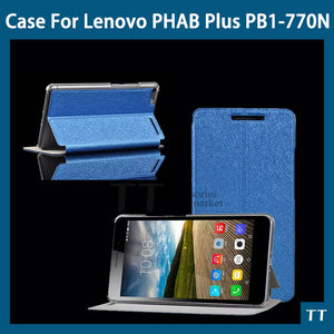 "Newest Case for lenovo phab plus 6.8"" case cover For Lenovo PHAB Plus PB1-770N PB1-770M 6.8 ""case+free Screen Protector"
