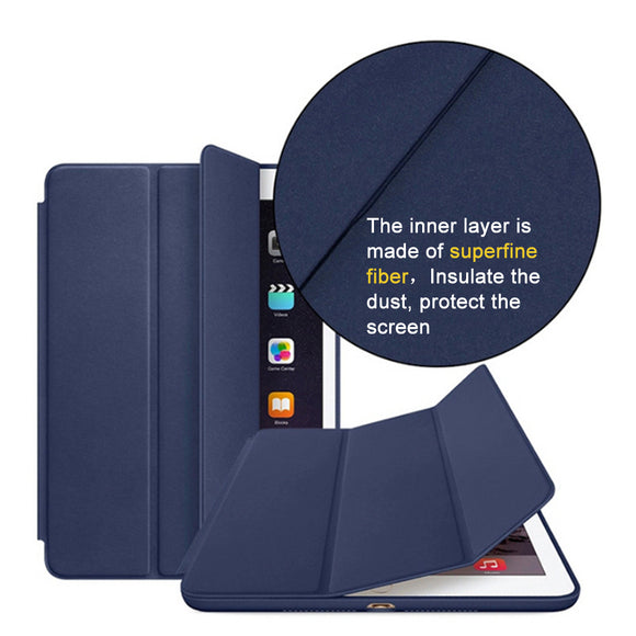 Original cover case for Apple ipad mini 1 for ipad mini 2 for ipad mini 3 tablet smart cover case+free gift