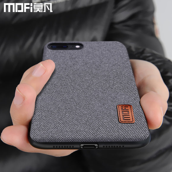 MOFi case for iphone8 iphone 8 plus case cover silicone edge shockproof business men back cover 8P 7 plus case for iphone 7 case