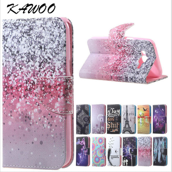 S7 S7 Edge Patterned PU Leather Flip Cover Wallet Case for Samsung Galaxy A310 A510 J5 J3 J510 A3 A5 2017 J330 J530 S8 S8 Plus