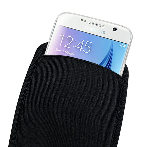 Soft Flexible Neoprene Protective Pouch Bag for for Samsung Galaxy S9 S8 S7 S6 S5 S4 Protect Sleeves Pouch Case For S9 Plus S9+