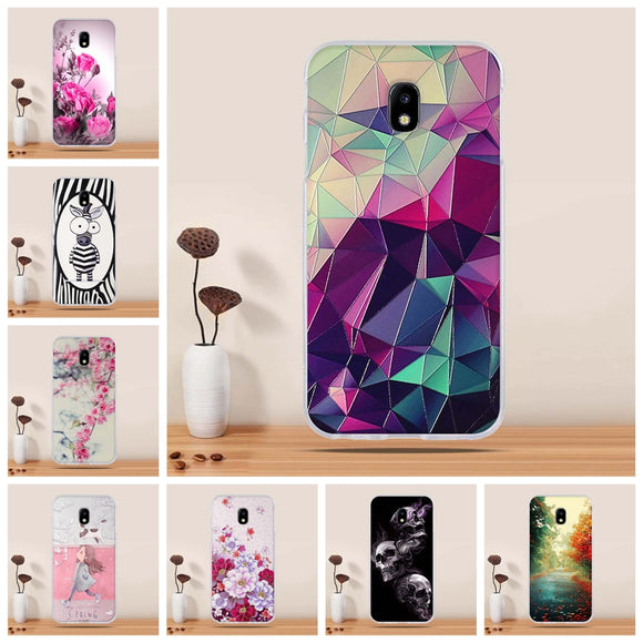 Protector bumper Cover For Samsung Galaxy J3 2017 Case TPU Silicone Coque for Samsung J3 2017 j330F Cover Mobilr Phone Bags Capa