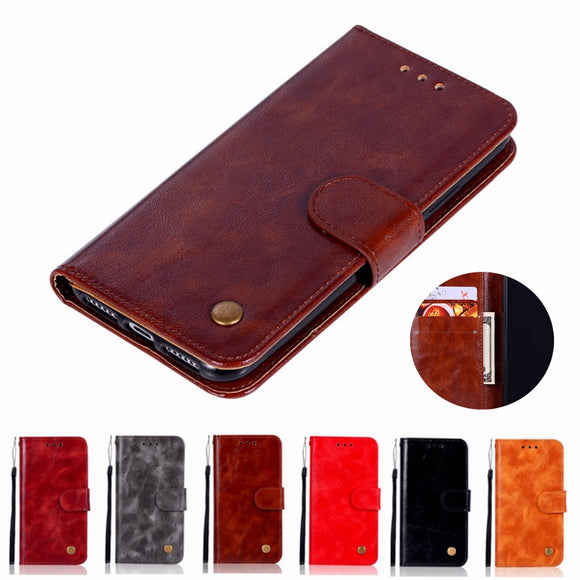Fashion Wallet Handset Cover For Lenovo Vibe P1M Case Retro PU Flip Leather Case For Lenovo P1MA40 5.0