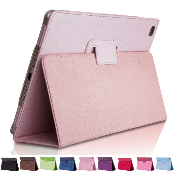 Flip Smart Case For Apple New iPad 9.7 2017/2018 Ultra Slim PU Leather Cover With Stander Holder For iPad Air 1/2 9.7 inch