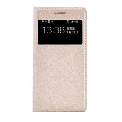 uk availability 76e02 43192 Smart View Flip Cover Leather Phone Case For Samsung Galaxy S4 Mini ...