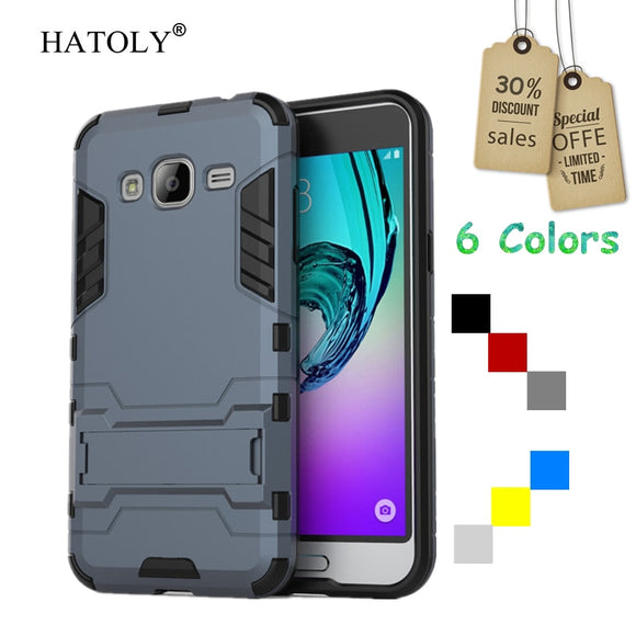 sFor Cover Samsung Galaxy J3 Case Rubber Robot Armor Shell Hard Back Phone Case for Samsung Galaxy J3 Cover for Samsung J3 2016