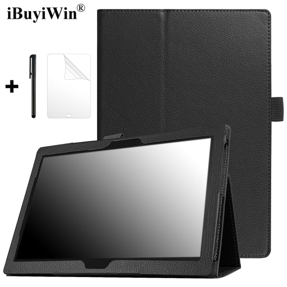 Case for Lenovo Tab 4 10 Plus TB-X704N TB-X704F TB-X704L Folding Stand Cover PU Leather Case for Lenovo TAB4 10 Plus Tablet Case