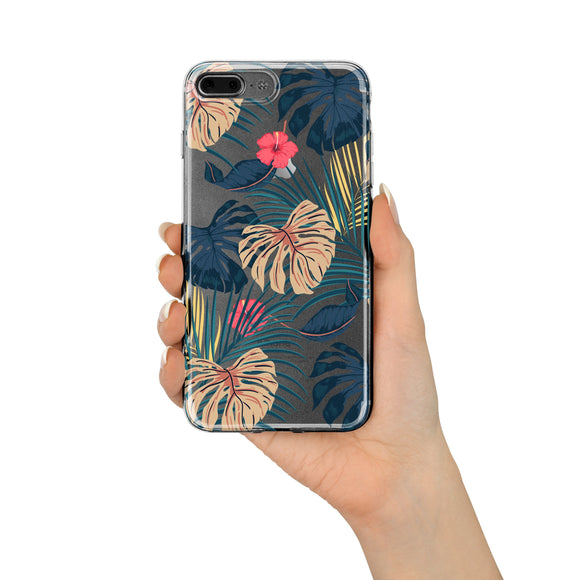 New Day Monstera - Clear TPU Case Cover