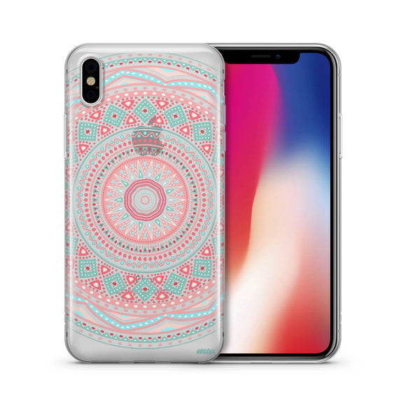 Anna Mandala - Clear TPU iPhone Case / Samsung Case Phone Cover
