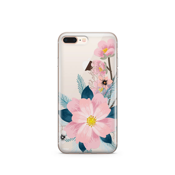 Luau - Clear TPU iPhone Case / Samsung Case Phone Cover