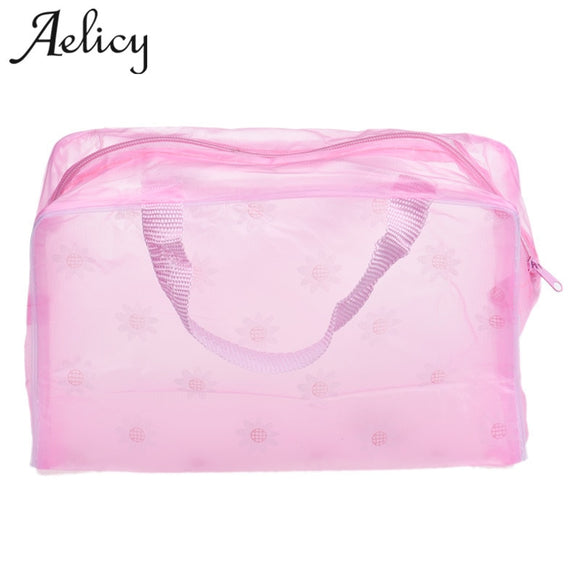 Aelicy High Quality Portable Makeup Cosmetic Toiletry Travel Wash Toothbrush Pouch Organizer Bag PK