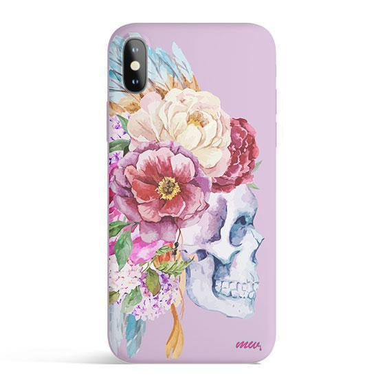 Craneo De La Flor - Colored Candy Matte TPU iPhone Case Cover