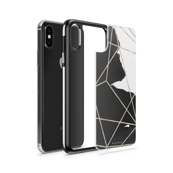 GEOMETRIC STROKE - SLATE STRONG INTERCHANGEABLE IPHONE CASE