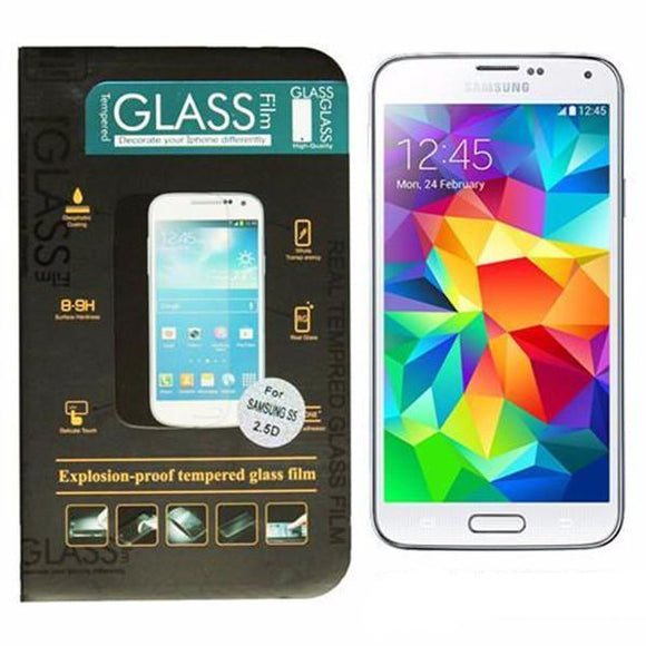 9H Anti-Scratch Tempered Glass Screen Protector Guard Film For Samsung Galaxy S5