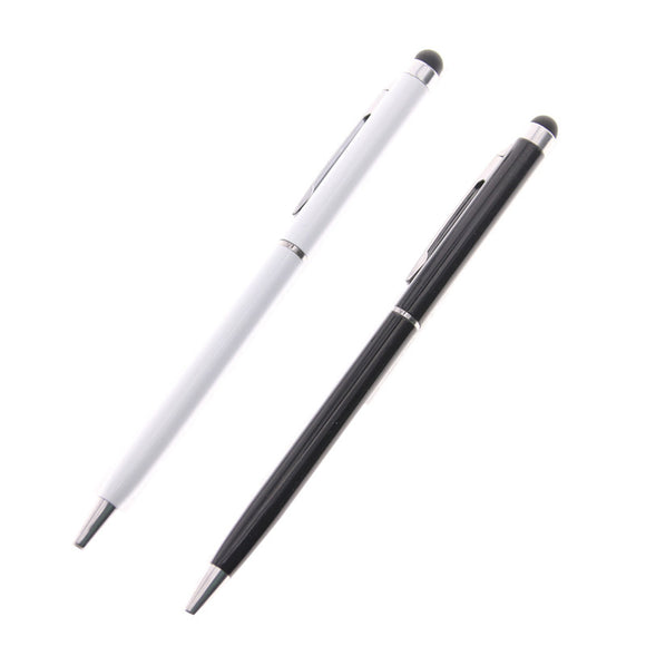 2 in1 Screen Touch Pen Stylus Ballpoint Pen for iPhone