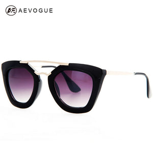AEVOGUE Brand Design Butterfly Vintage Eyewear Sunglasses Women Most Popular Good Quality Sun Glasses Female UV400 AE0132