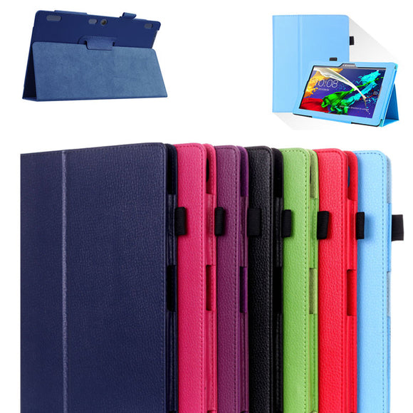 For Lenovo Tab 10 Tab10 TB-X103F 10.1 Cover Case Protective PU Leather TAB 3 10 Plus 10.1