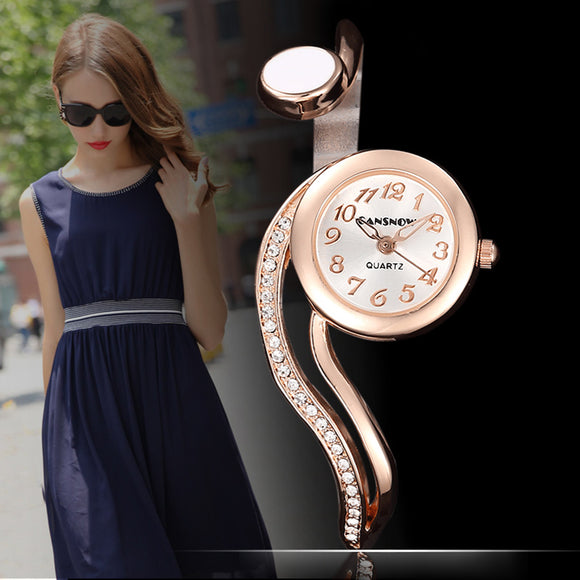 Luxury Rose Gold Bracelet Bangle Women Watches Fashion Small Stainless Steel Ladies Watch Female Age Girls Casual Clock #1CWL