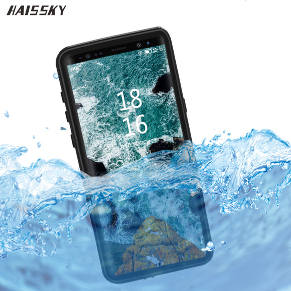 IP68 Water Proof Case Cover For Samsung S9 Plus Case S9 Note 8 9 WaterProof Full Protective Underwater Diving Anti-knock Fundas