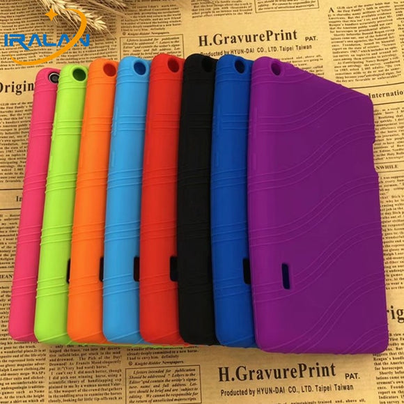 Case for Huawei MediaPad T3 7.0 WIFT BG2-W09 (Not 3G U01)Soft Silicone TPU Back Cover for huawei Honor Play Pad 2 7.0 funda+pen