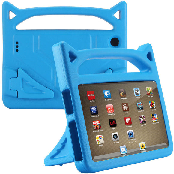 For Amazon Kindle Fire 7 2015/2017 Kids Protective Skin Safe EVA Rubber Handle Stand Tablet Case Cover 7 inch 20J