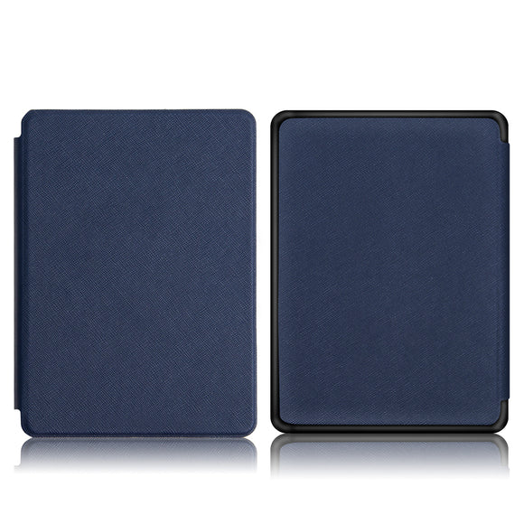 slim case for 2018 new Amazon kindle paperwhite 4 e-reader folio cover case for New kindle paperwhite 4 cover+free gift