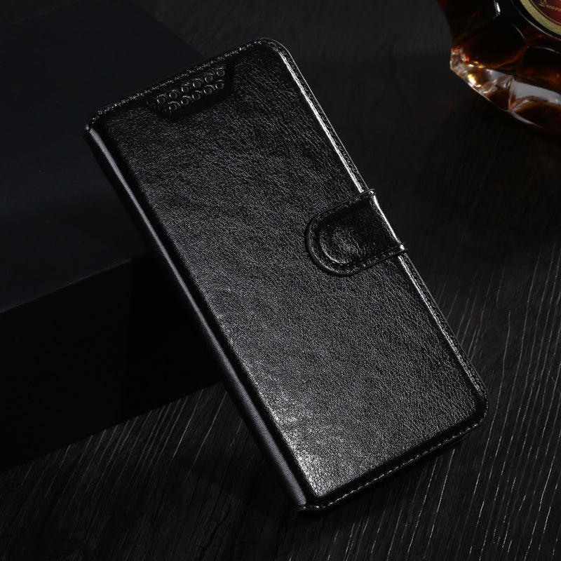 new product a593b 574b0 Flip Case For Microsoft lumia 430 435 520 530 532 730 830 925 930 950 PU  Leather Wallet Cover For Nokia X X2 XL Dual SIM Case