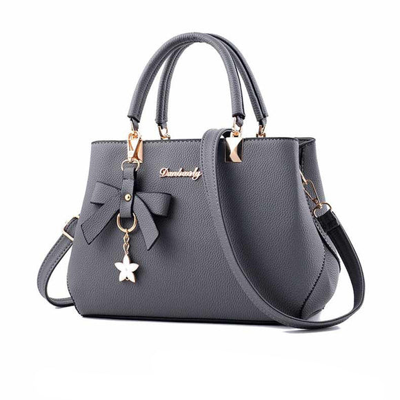 NIBESSER New 2019 Elegant Shoulder Bag Women Designer Luxury Handbags Women Bags Plum Bow Sweet Messenger Crossbody Bag