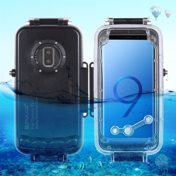 for IPhone 8/7 4.7In Waterproof Dive Shell Photo Video Shooting Underwater Cover Luxury Shockproof Bumper Simple Solid Color