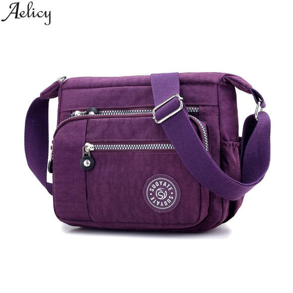 Aelicy Women Summer Casual Nylon Messenger Bag Sports Style Traveling Shoulder Bag Shopping Crossbody Bag New Hot Sales