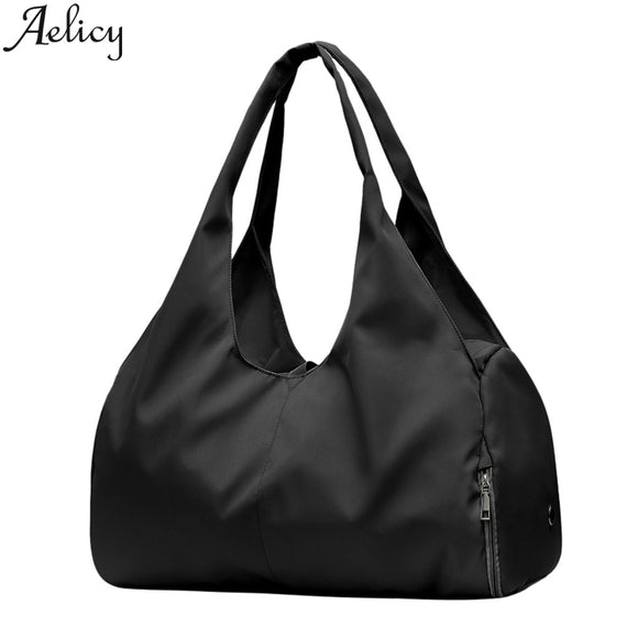 Aelicy 2019 Women Fashion Nylon Single Shoulder Luggage Travel bag Waterproof Handbags Travel Bags Hand Luggage Large Capacity