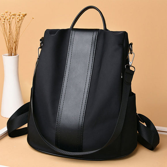 Women Backpack School Travel Book Bag Waterproof Anti-Theft Luxury Brand Laptop Black Casual Daypack For Girl Large Tote Leisure