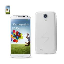 REIKO SAMSUNG GALAXY S4 SEMI CLEAR CANDY CASE IN WHITE