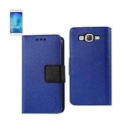 REIKO SAMSUNG GALAXY A8 3-IN-1 WALLET CASE IN NAVY