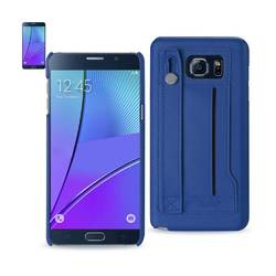 REIKO SAMSUNG GALAXY NOTE 5 GENUINE LEATHER HAND STRAP CASE IN ULTRAMARINE