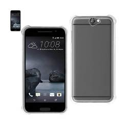 REIKO HTC ONE A9 MIRROR EFFECT CASE WITH AIR CUSHION PROTECTION IN CLEAR
