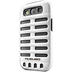 Smart IT Musubo Retro Case for Samsung Galaxy S3 - Smartphone - White - Polycarbonate, Silicone