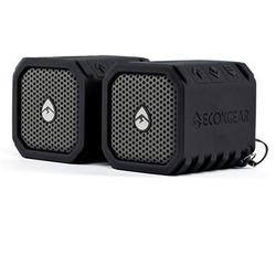 Ecoduo Bluetooth Speaker Two Pack Blk