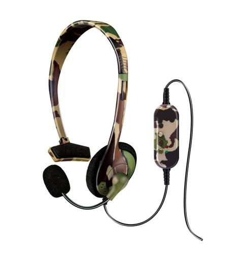 PS3 Broadcaster Headset Jungle Camo