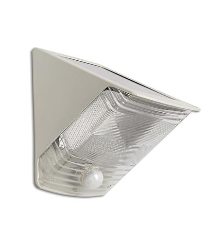 2 LED Solar Motion-Activated Wedge Light