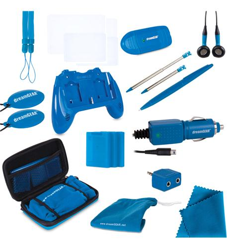 3DS 20 in 1 Essentials Kit-Blue