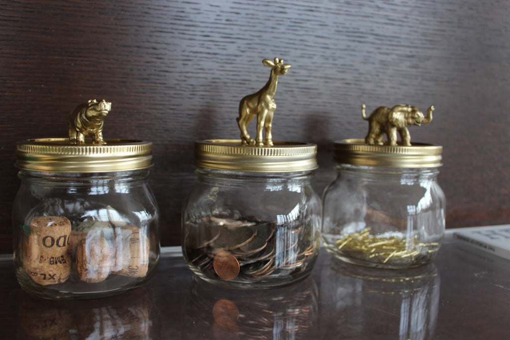 Mason Jar Crafts for the Animal Lover