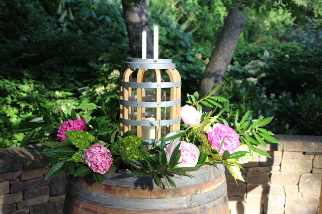 Decorate with Wine Barrels