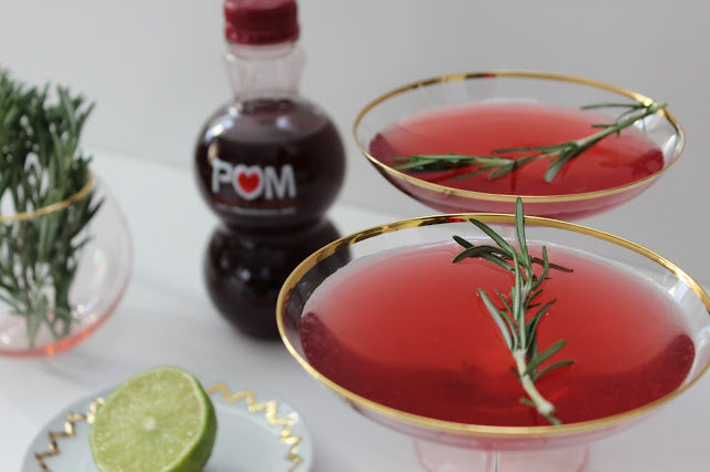 Pomegranate Martini DIY Recipe