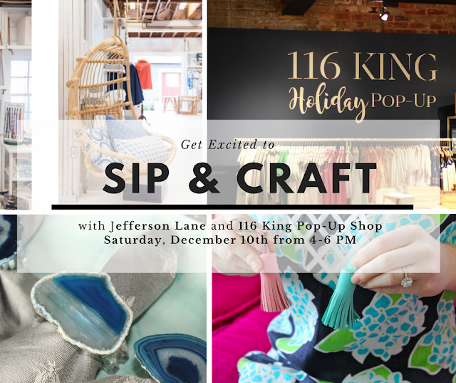 Sip & Craft with Jefferson Lane and 116 King
