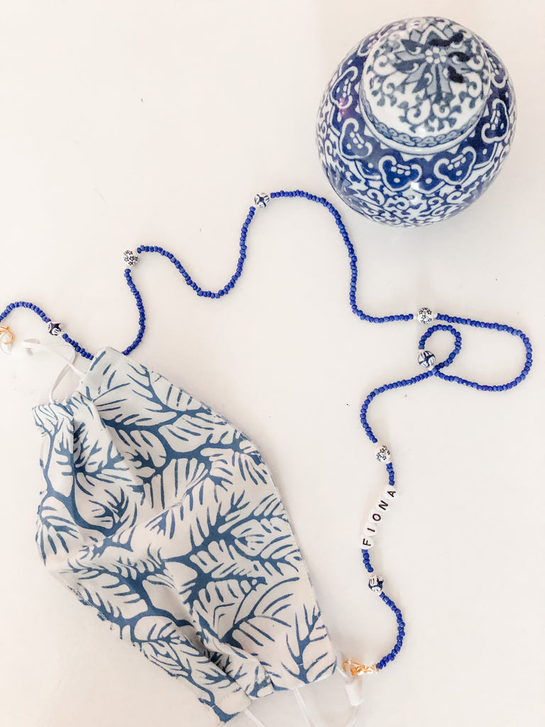 Chinoiserie MASKLACE & Sunglasses Holder