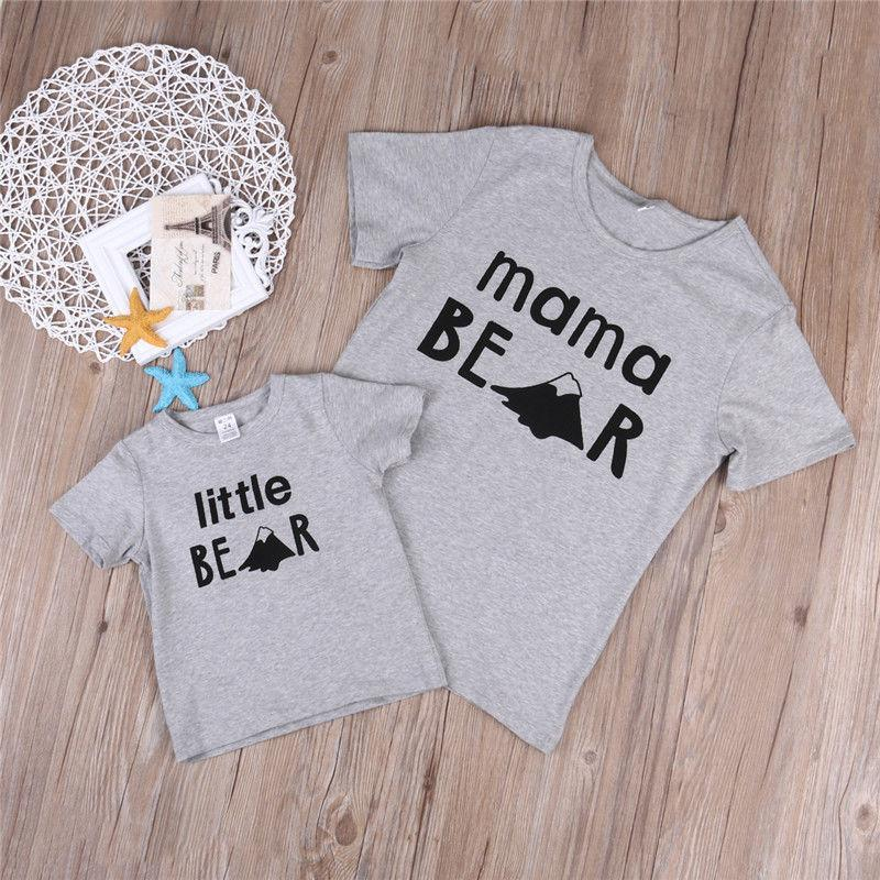 Mama & Little Bear Mathcing T-Shirt