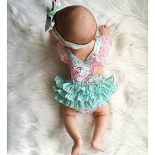 0833428daf1b New Belt Cute Baby Rompers Summer Ruffled Flower Girl – The Moms Zone