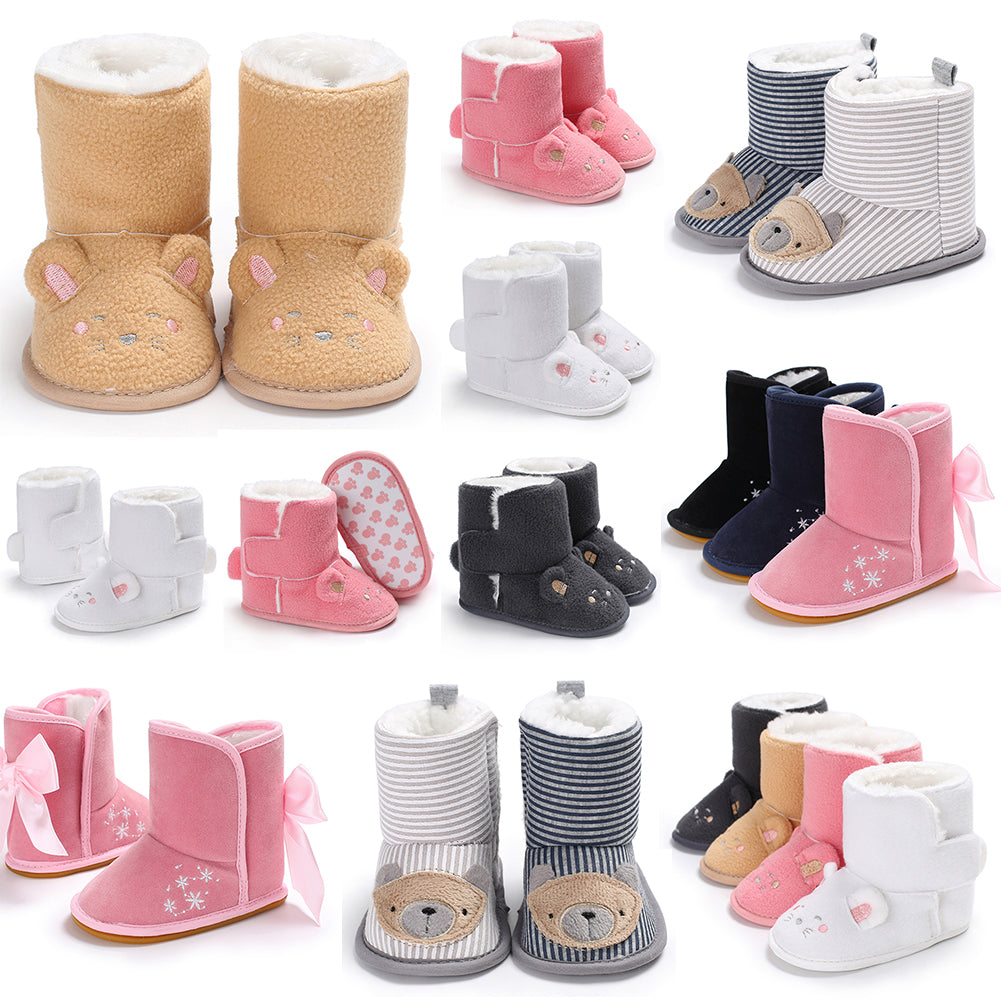 Lovely Baby Girl Boy Snow Boots Winter Cute