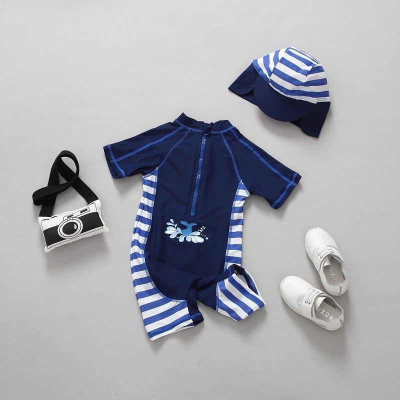 Summer Baby Boy Swimwear One Pieces Boys Swimsuit